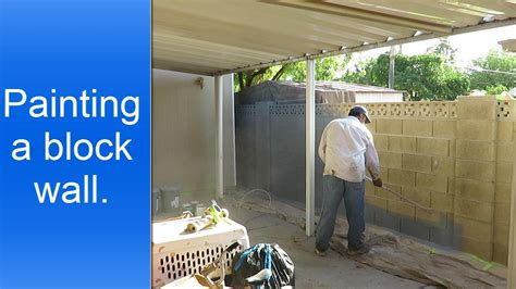 painting concrete block exterior walls painting exterior cinder block wall