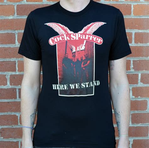 Sparrer Cs 12 sparrer here we stand t shirt cs here we stand