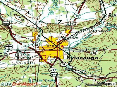 Coosa County Detox by Sylacauga Alabama Al 35149 Profile Population Maps