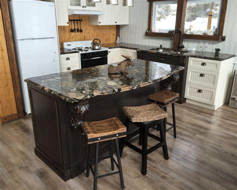 comptoir de cuisine c駻amique accueil granit rb design