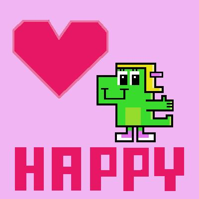 cute, pink, pixel art, animated gif, valentines day