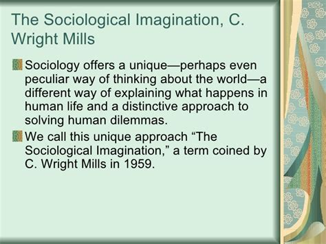 Sociological Imagination Essays by Sociological Imagination Essay C Wright Mills