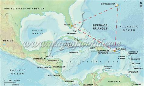 map of bermuda and us bermuda triangle map and location bermuda triangle