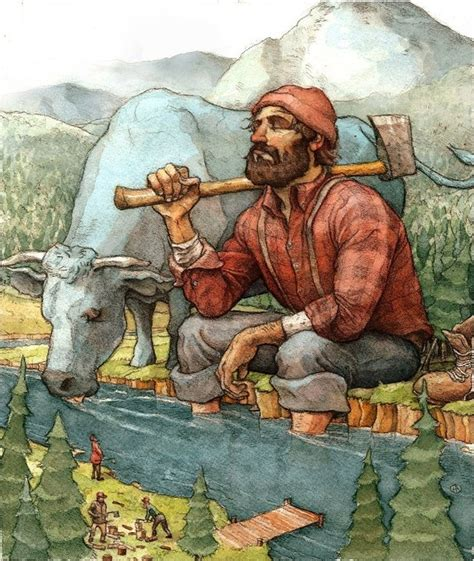 1000 images about paul bunyan and the blue ox on
