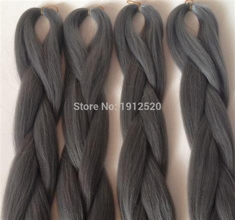 silver grey xpressions braiding hair grey xpressions grey xpression braiding hair hairstyle