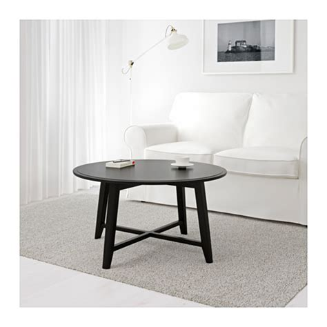Ikea Coffee Table Legs Kragsta Coffee Table Black 90 Cm Ikea