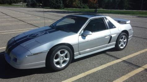 old car manuals online 1986 pontiac fiero on board diagnostic system buy used 1986 pontiac fiero 4 speed manual in brighton michigan united states for us 2 950 00