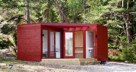 compact cottages compact cabins from sweden