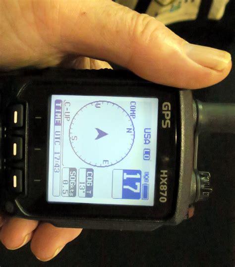 panbo  marine electronics hub standard horizon hx