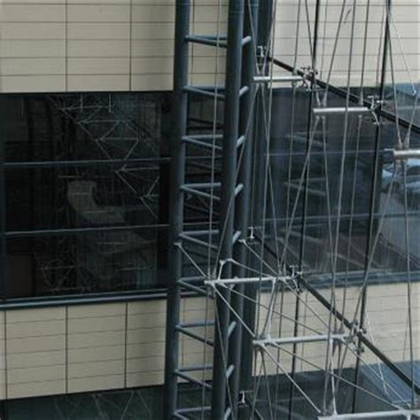 spider glass curtain wall ceramic cladding spider glass curtain wall tension rod