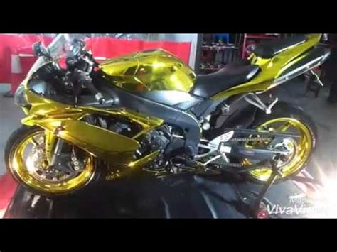 R1 Aufkleber Gold by The Gold Chrome Yamaha R1 In Singapore