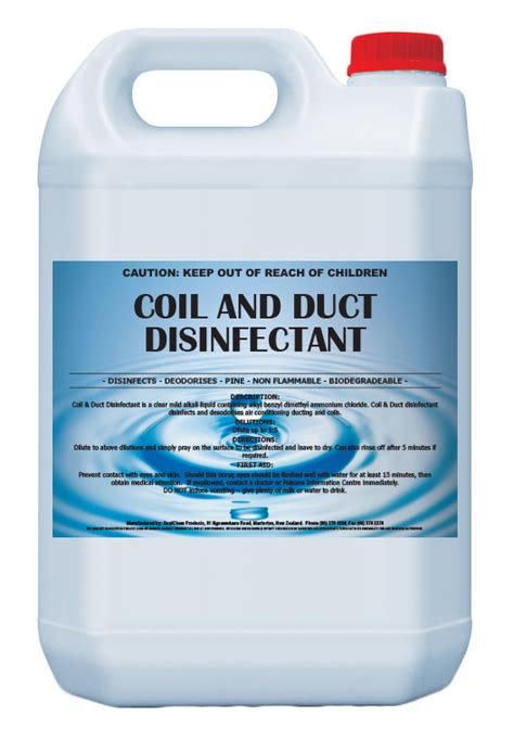 Ac Conditioner Cleaner 3in1 Wd qualchem coil and duct disinfectant 10133co air