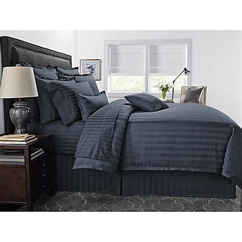 denim comforter set full buy wamsutta 174 500 thread count pimacott 174 damask stripe