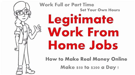 Working From Home Online Jobs That Are Legit - legitimate work from home jobs legit online jobs earn 100 200 per day youtube