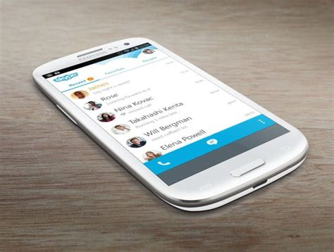 skype for android phone skype 5 5 for android released