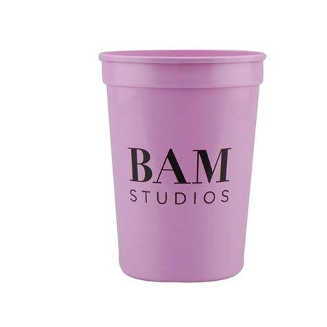 Biotouch Micropigment 12 Oz Pink 12oz stadium cups pink goimprints