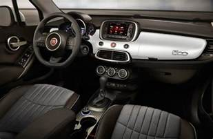 Fiat 500x Interior Interior Color Options 2017 Fiat 500x
