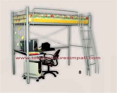 Ranjang Susun Mbb 04 Termasuk Kasur Busa 14 Cm ranjang susun bunk bed ranjang tingkat toko