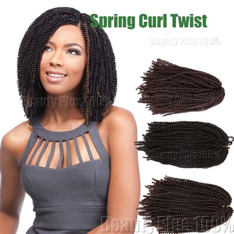 crochet braid pattern for spring twist aliexpress com buy hot sale spring curl crochet braids