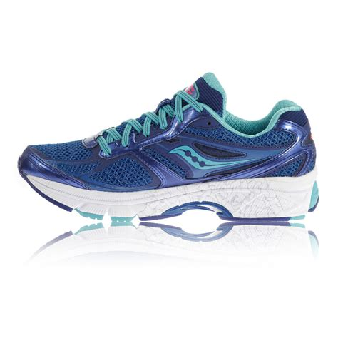 running shoes blue cool trainers saucony guide 8 womens running shoes blue