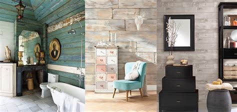 distressed wood accent wall rustic wood walls brewster home