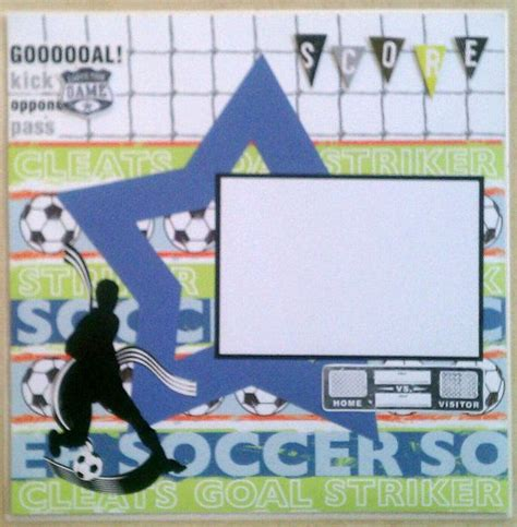 scrapbook layout soccer 1000 images about soccer layouts on pinterest creative