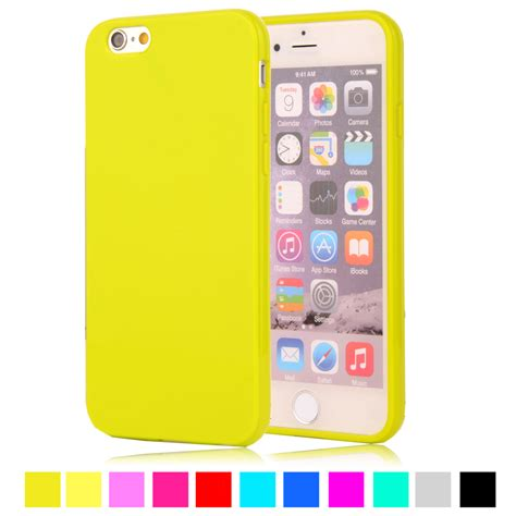 Softcase Silicon Ultra Thin Iphone 6g 6s T1910 1 color silicone tpu gel soft for apple iphone 6 rubber material soft back cover for