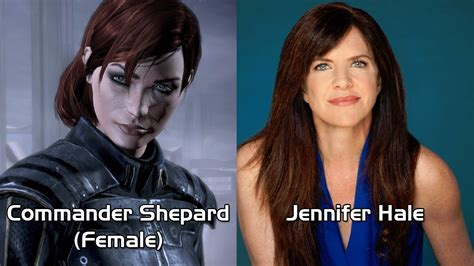 hottest voice actors characters and voice actors mass effect 3 updated