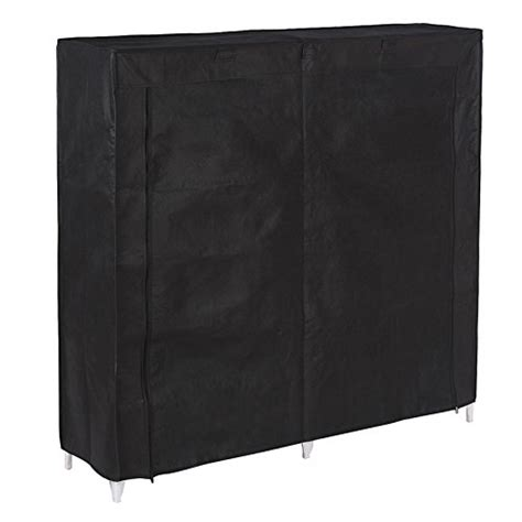 shoe storage with cover songmics 7 tiers portable shoe rack closet with fabric