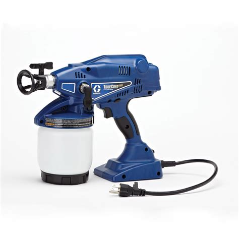 paint sprayer shop graco truecoat plus airless handheld paint sprayer at