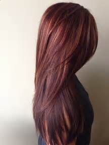 burgundy brown hair color brown burgundy hair color