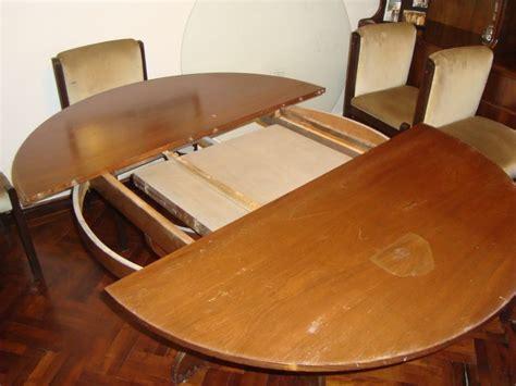 mesas redondas de comedor mesas de comedor redondas extensibles de madera