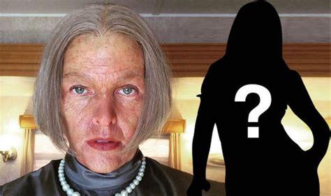 milla jovovich old milla jovovich transforms into an elderly alice for new