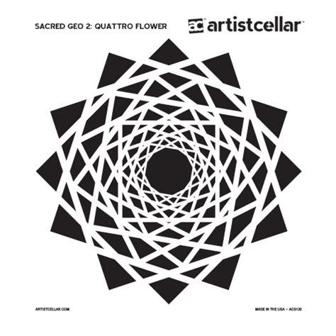 sacred geometry 2 series stencils artistcellar