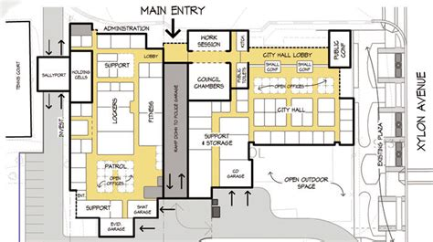 municipal hall floor plan city hall floor plan requirements thefloors co
