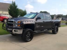2014 silverado quot black widow quot custom lifted trucks