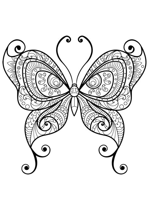 cool butterfly coloring pages cool butterfly coloring pages