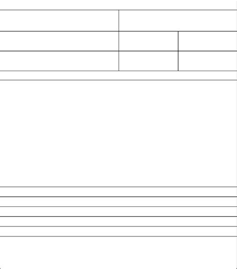 standard project overview template edit fill sign