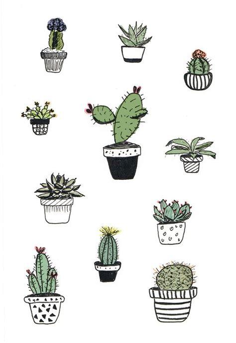 cactus doodle cacti doodle alana keenan grow middle