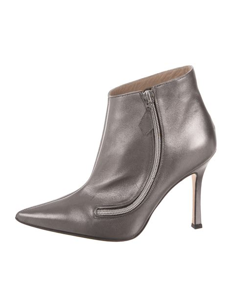pointed toe boots manolo blahnik pointed toe ankle boots shoes moo55061