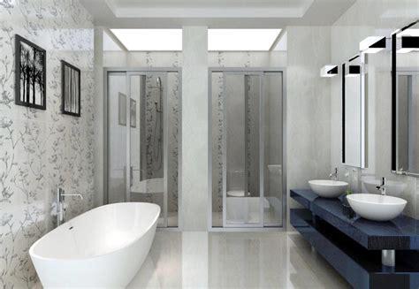 wall paper for bathroom bathroom wallpaper decoration 3d view