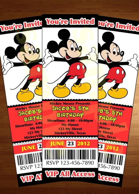 mickey mouse clubhouse party invitations 76993 vipcesmeescort info
