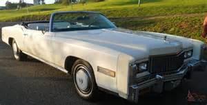 500ci Cadillac 1976 Orignial Cadillac Eldorado Conv 1 Of 1 000 Fuel