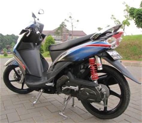 Modifikasi Mio Soul 2010 by Pertamina Pertamax Racing Bikers Indonesia