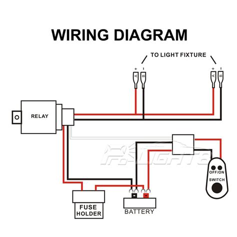 wiring diagram for led light bar with relay efcaviation