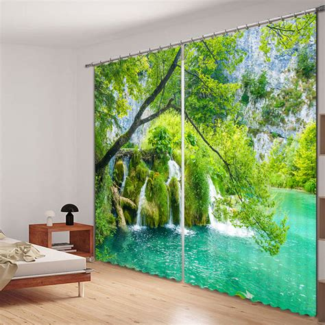 landscape curtains landscape scenery 3d curtains for living room window