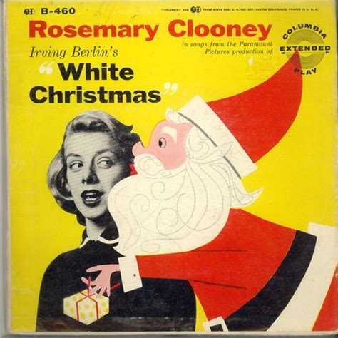 rosemary clooney songs from white christmas rosemary clooney s white christmas merry kitschmas