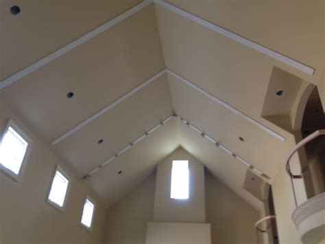 cathedral ceiling trusses king post trusses on a cathedral ceiling faux wood workshop