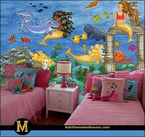 mermaid themed bedroom decorating theme bedrooms maries manor underwater