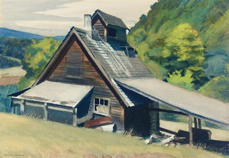 sugar house vt vermont sugar house painting by edward hopper